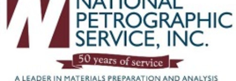 NATIONAL PETROGRAPHIC SERVICE, INC